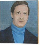 Len In 1981 Wood Print