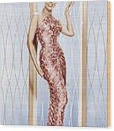 Lena Horne, Ca. 1950s Wood Print