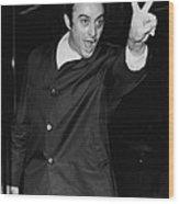 Lenny Bruce 1925-1966 Social Critic Wood Print