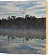 Lenthalls Dam 10 Wood Print by David Barringhaus