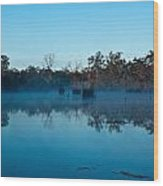 Lenthalls Dam 11 Wood Print by David Barringhaus