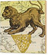 Leo, The Hevelius Firmamentum, 1690 Wood Print by Science Source