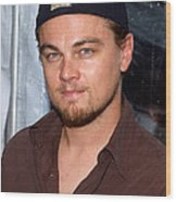 Leonardo Dicaprio Arrives Wood Print by Everett