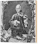 Leopold Mozart (1719-1787) Wood Print