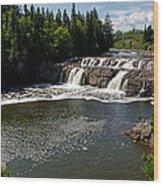 Lepreau Falls Wood Print
