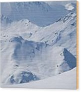 Les Arcs, France Wood Print