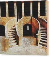 L'esclavage Et La Traite Negriere  Wood Print by Fania Simon