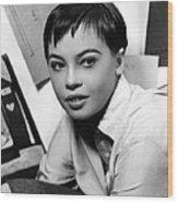 Leslie Caron, Ca. 1950s Wood Print