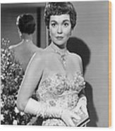 Lets Do It Again, Jane Wyman, 1953 Wood Print