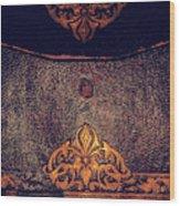 Letter Satchel Civil War Wood Print
