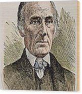 Levi Coffin (1798-1877) Wood Print by Granger