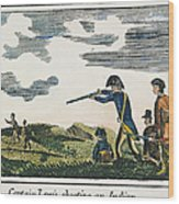 Lewis & Clark: Native American, 1811 Wood Print