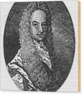 Lewis Morris (1671-1746) Wood Print by Granger