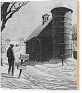 Lewis: R.f.d., 1933 Wood Print