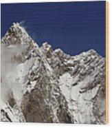 Lhotse And Lhotse Sar Wood Print