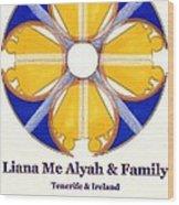 Liana Me Alyah Wood Print