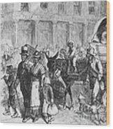 Liberated Slaves, 1861 Wood Print