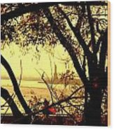 Liberty Fall Wood Print