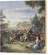 Liberty Pole, 1776 Wood Print