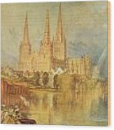 Lichfield Wood Print by Joseph Mallord William Turner