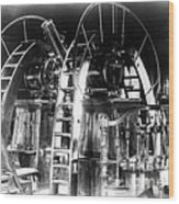 Lick Observatory, Meridian Instrument Wood Print