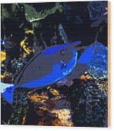 Life Among The Coral Wood Print