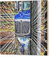 Life Is A Highway Wood Print