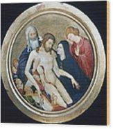 Life Of Christ Wood Print