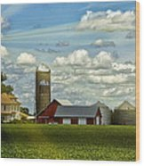 Light After The Storm Wood Print by Bill Tiepelman