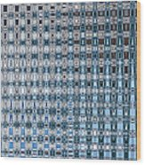 Light Blue And Gray Abstract Wood Print