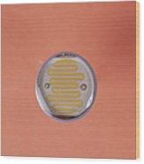 Light Dependent Resistor Wood Print