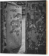 L.i.g.h.t. Wood Print