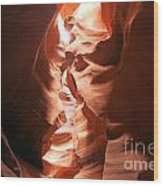 Light From Above Wood Print