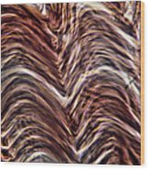 Light Micrograph Of Smooth Muscle Tissue Wood Print