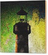 Light Of Hope Wood Print