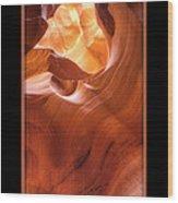 Light On Top Wood Print