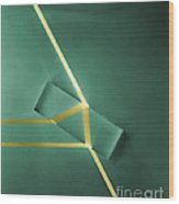 Light Refraction Wood Print