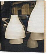 Light Shades Wood Print
