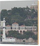 Lighthouse At The Bosphorus - Istanbul Wood Print