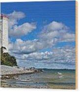 Lighthouse Dream Wood Print