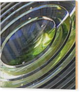 Lighthouse Lens Pensacola Wood Print