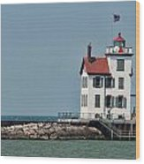 Lighthouse Ohio Wood Print