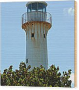 Lighthouse On Grand Turk 2 Wood Print