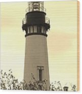 Lighthouse Tranquility Wood Print