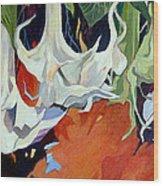 Lilies In Splendor Wood Print