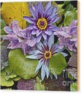 Lilies No. 12 Wood Print