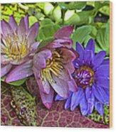 Lilies No. 29 Wood Print