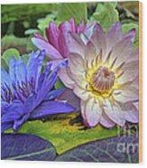 Lilies No. 30 Wood Print