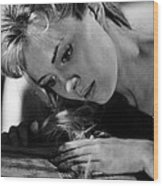 Lilith, Jean Seberg, 1964. Csu Wood Print