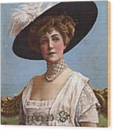 Lillian Russell On Cover Wood Print